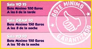 Botes especiales de bingo online