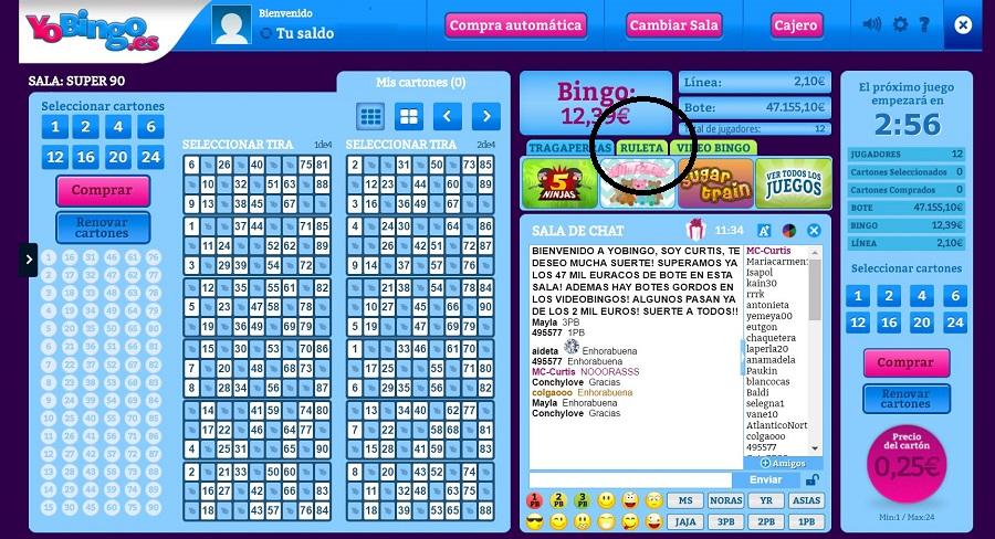 Sala Bingo Online