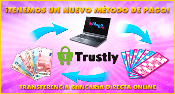 Trustly, transferencia bancaria instantánea online