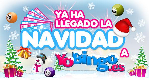 La navidad llega a YoBingo