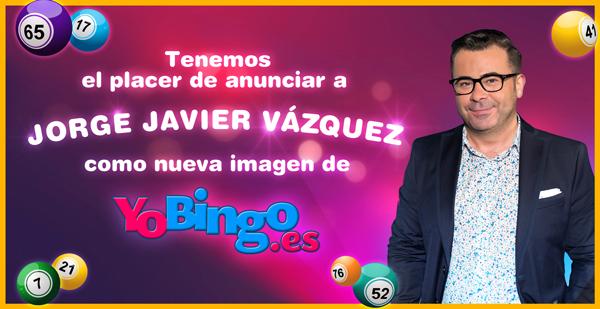 Jorge Javier Vazquez nueva imagen de YoBingo