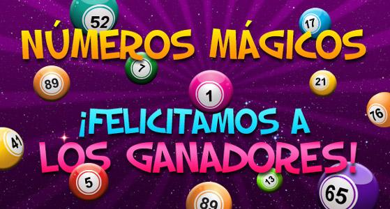 ganadores numeros magicos