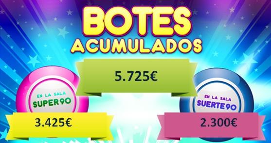 Bingo online bote acumulado