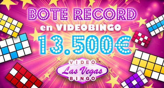 Video Bingo Las Vegas Bote acumulado