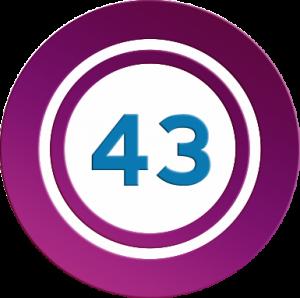 Números mágicos 43