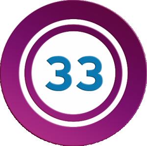 Ganadores del número mágico 33