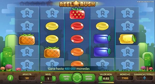 Nuevos juegos de tragaperras - Reel Rush