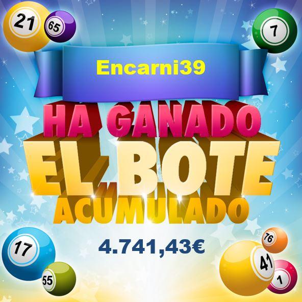 Bote acumulado bingo online