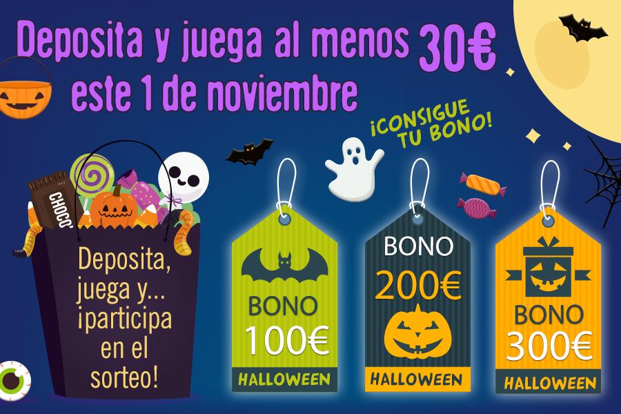 Llega la promoción especial de Halloween
