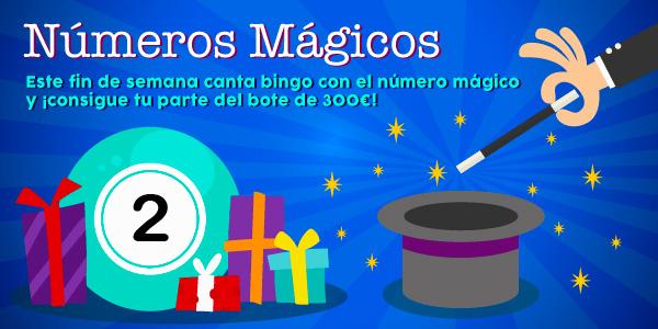 Promoción de los números mágicos - 2