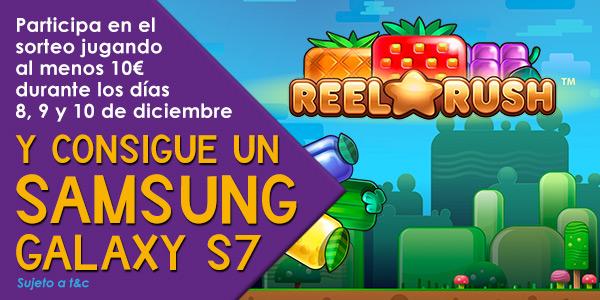 Promoción especial slots Reel Rush