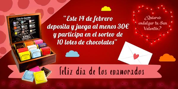 Promoción especial San Valentín 2018
