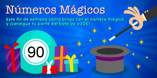 Promoción de los números mágicos - 90
