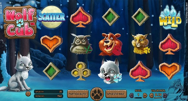 Más juegos de tragaperras online Wolf Cub