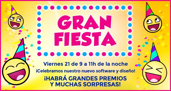 Gran Fiesta YoBingo