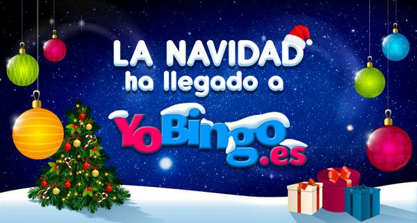 Ya es Navidad en YoBingo