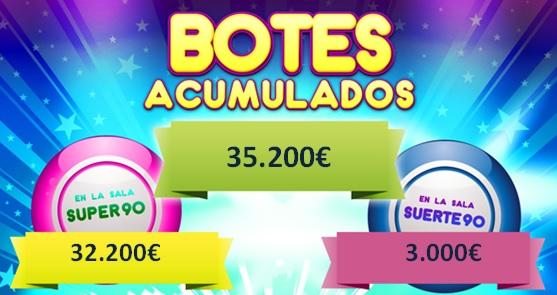 Botes de salas de Bingo Online
