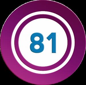 Promoción números mágicos 81