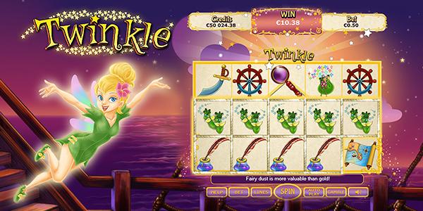 Viaja al reino mágico de la tragaperras Twinkle