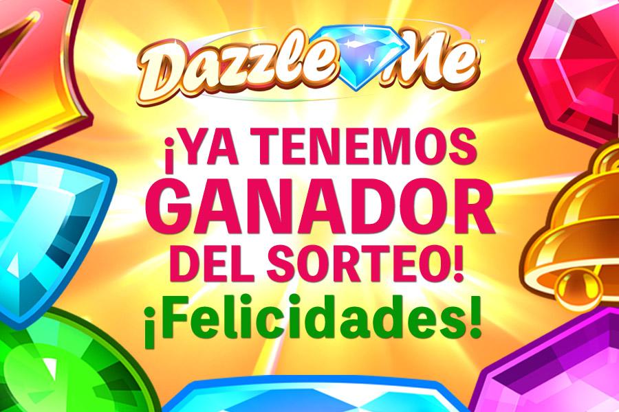 Ganador promocion Tragaperras Dazzle Me