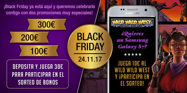 Promoción Especial Black Friday