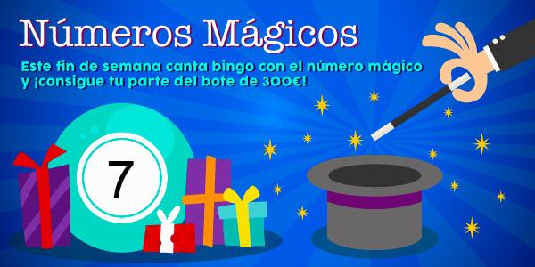 Promoción de los números mágicos - 7