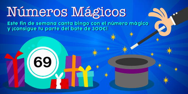 Promoción de los números mágicos - 69