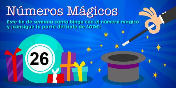 Promoción de los números mágicos