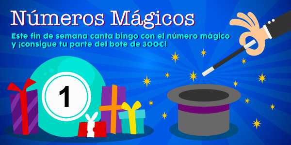 Promoción de los números mágicos - 1