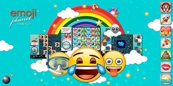 Viaja al mundo de premios de la tragaperras Emoji Planet
