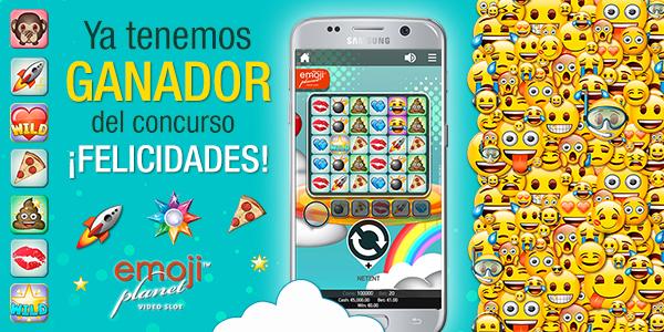 Promoción especial Tragaperras Emoji Planet