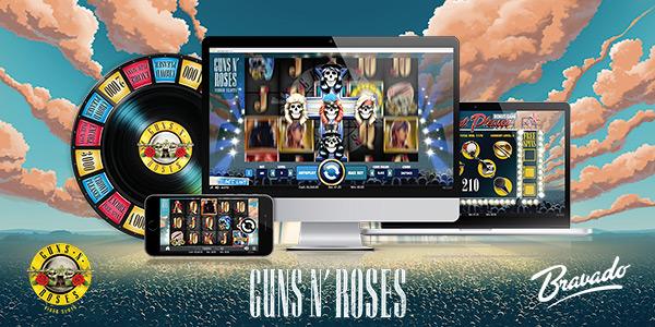 Rockea a lo grande con el juego de tragaperras Guns N' Roses