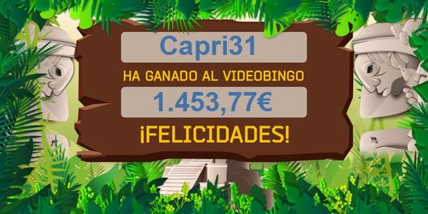 Capri31 ganó el acumulado del VB Templos Mayas