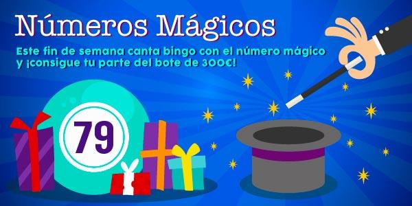 Números mágicos de YoBingo