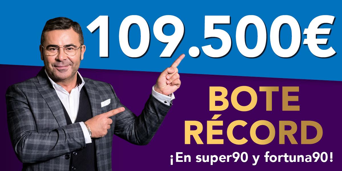 Nuevo bote acumulado récord en SUPER90