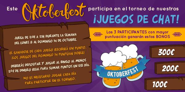 Promoción especial: OktoberFest