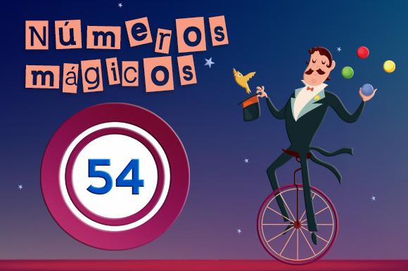 Número Mágico 54 - Promociones de Bingo Online