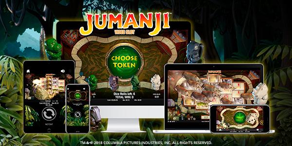 Tragaperras online Jumanji