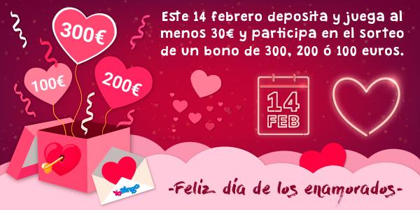 Promoción San Valentín