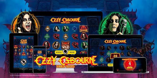 Nueva tragaperras Ozzy Osbourne