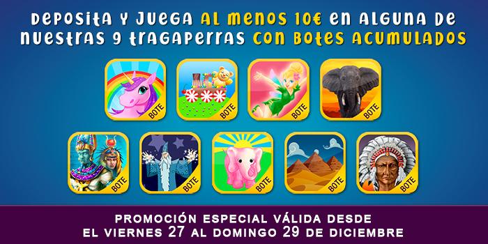 Juegos de Tragaperras Eyecon promoción
