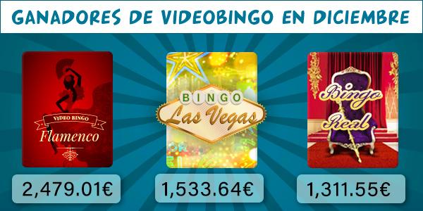 Ganadores videobingo diciembre