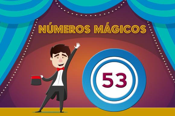 números mágicos 53