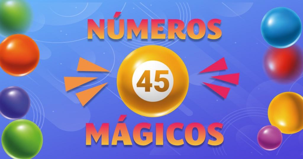 números mágicos 45