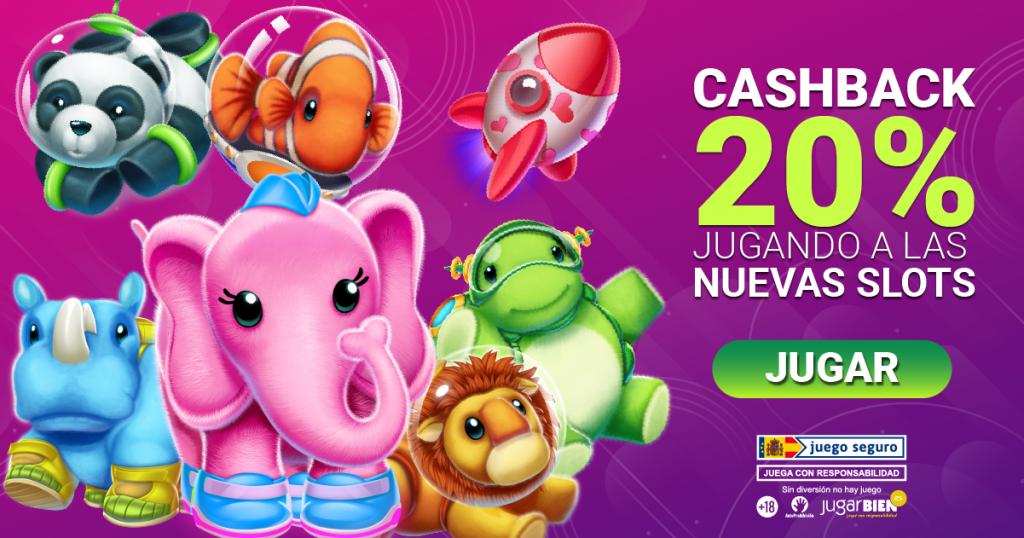20% de cashback en las novedades hasta 200€