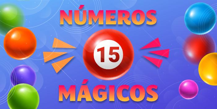 números mágicos 15