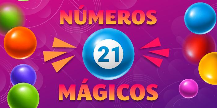 números mágicos 21