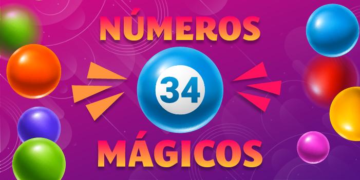 números mágicos 34