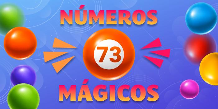 números mágicos 73