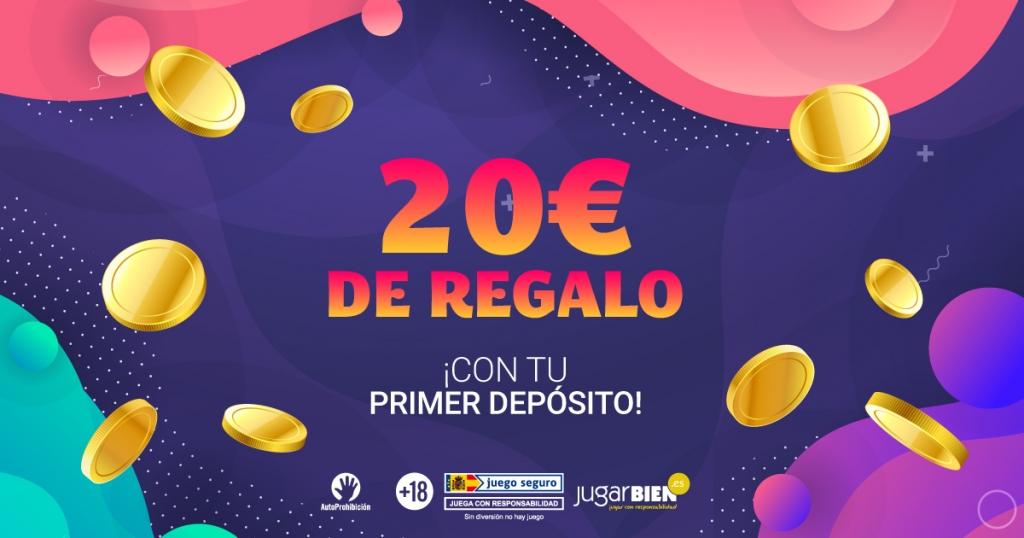 20€ regalo yobingo